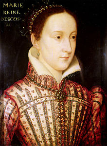 Portrait of Mary Stuart in 1559