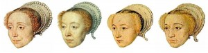 1550's Hairstyles