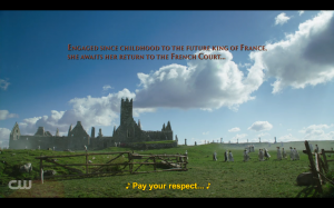 Reign Screencap - French Convent
