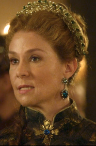 Reign Screencap - Catherine's blue jewelry
