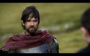 Reign Screencap - English soldier being a creeper