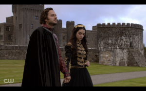 Reign - Tomas holding hands