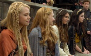 Reign Screencap - 3 lovelies and a fug