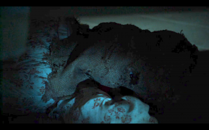Reign - Burlap Sack under Mary's bed