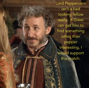 The kind of good-looking Lord Peppercorn