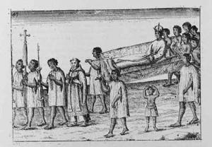 Nzinga's Funeral.